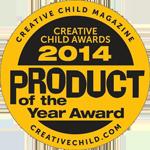Creative Child Magazine: Product of the Year Award