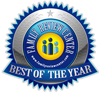 Press Release from Family Review & Award Center: Senseez won the Best of the Year Award!