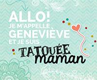 Tatouee Maman: Jai Teste un Coussin Vibrant